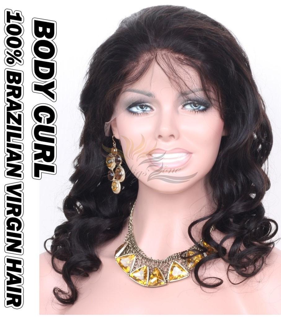 Body Curl Brazilian Virgin Human Hair HD Lace 360 Lace Wig 150% Density Pre-Plucked Hairline