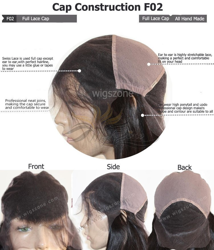CUSTOM MADE FULL LACE WIG EXACTLY AS YOU WANT [F02]