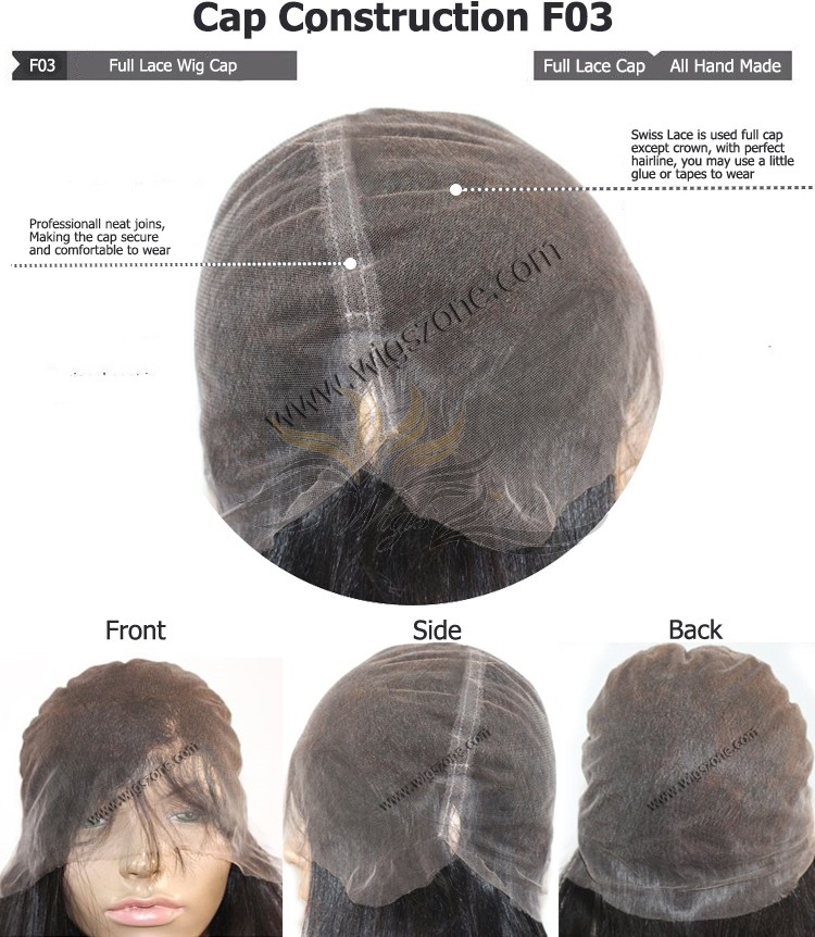 CUSTOM MADE FULL LACE WIG EXACTLY AS YOU WANT [F03]