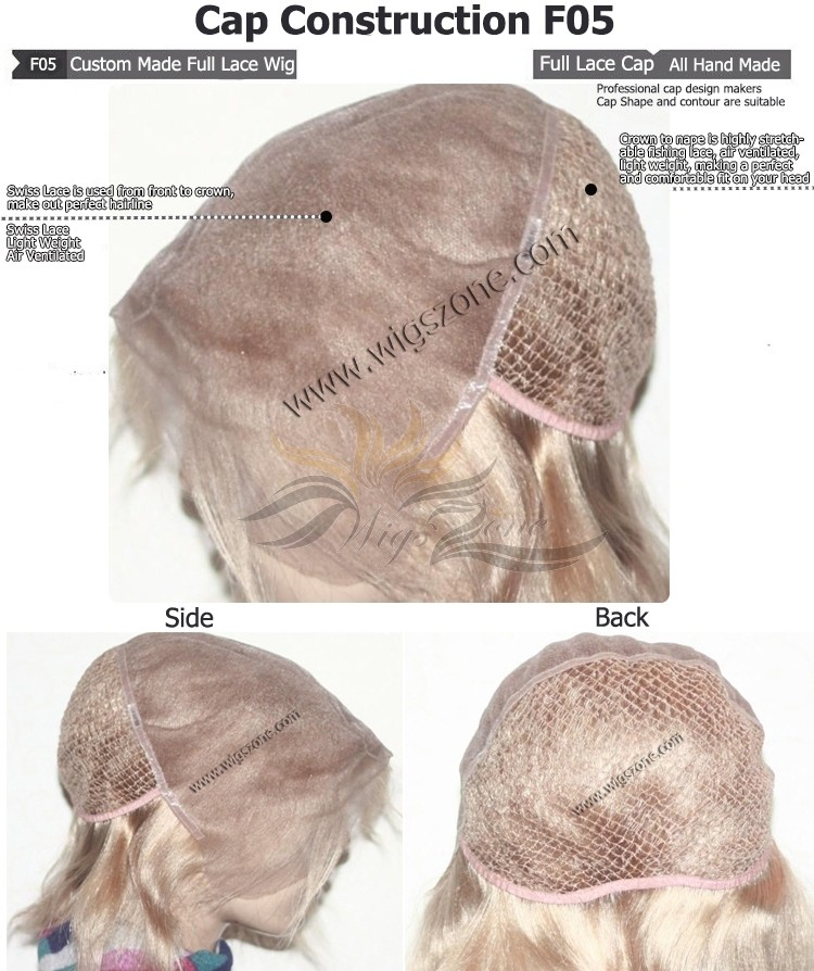 CUSTOM MADE FULL LACE WIG EXACTLY AS YOU WANT [F05]
