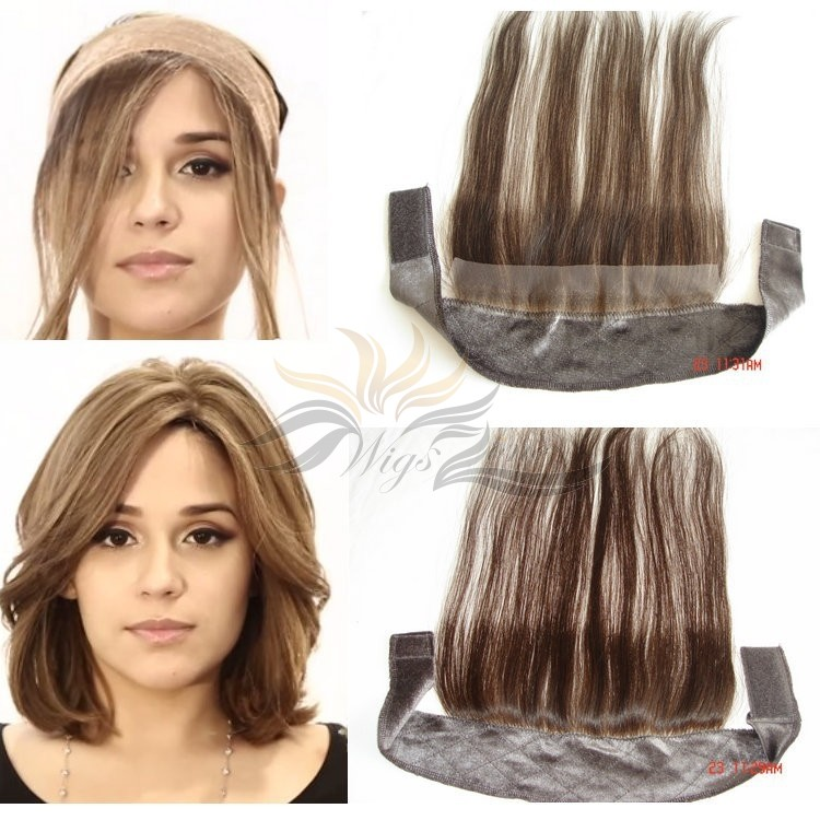 100% European Hair I BAND Head Band Lace Grip for Jewish Wig Kosher Wigs