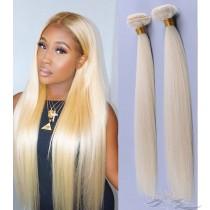 Color #613 Straight Hair Blonde Color Ultima Fiber Hair Weft   [SUW613]