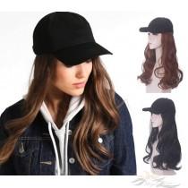 LONG CURLY SYNTHETIC HAIR HAT WIG [HWCU]