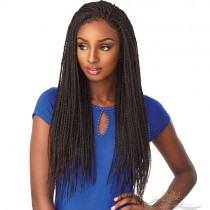 Futura Fiber Twist Lace Front Wig Multi-Part Lace Front Wig Looks & Feels Like Human Hair [SHT01]