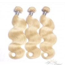 Color 613 Chinese Virgin Hair Wefts Human Virgin Hair Weaves  [CNW613]