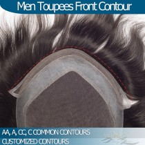 Man Hair Replacements Front Contours Helpful Information