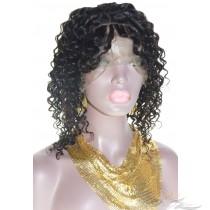 Clearance 14inch Dream Curl Peruvian Virgin Hair 360 Lace Wig [P360DRC]