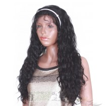 Synthetic Bella Wavy Lace Front Wig Futura Fiber Looks & Feels Like Human Hair Infused With Protein And Collagen For Softness & Longevity [SHBE]