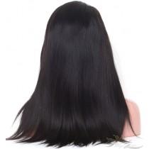 Silky Straight SILK TOP Lace Front Wig Brazilian Virgin Hair Hidden Knots [BRSHST]