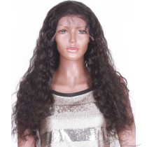 Synthetic Natural Loose Wave Lace Front Wig Futura Fiber Looks & Feels Like Human Hair Infused With Protein And Collagen For Softness & Longevity [SHNLW]