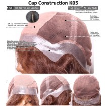 CUSTOM MADE SILK TOP THIN SKIN LACE WIG EXACTLY AS YOU WANT [K05]