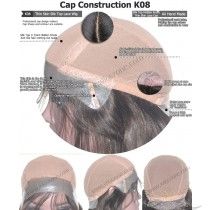 CUSTOM MADE SILK TOP THIN SKIN LACE WIG EXACTLY AS YOU WANT [K08]