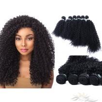 Kinky Curl Color 1B African American Hair Ultima Fiber Hair Weft   [SUWKC]