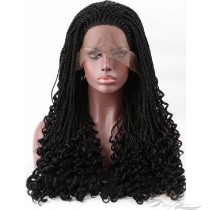 Futura Fiber Twist Lace Front Wig Multi-Part Lace Front Wig Looks & Feels Like Human Hair [SHT02]