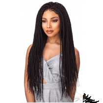 Futura Fiber Braided Box Braid Lace Front Wig Looks & Feels Like Human Hair [SHBB01]