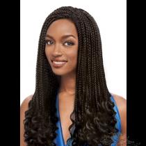 Futura Fiber Braided Box Braid Multi-Part Lace Front Wig Looks & Feels Like Human Hair [SHBB02]
