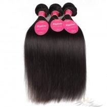 Silky Straight Brazilian Virgin Hair Wefts 3pcs/Lot Human Virgin Hair Weaves 3 Bundles [BRWST3]