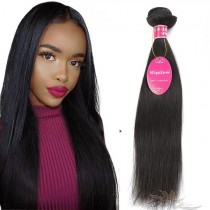 Silky Straight Brazilian Virgin Hair Wefts Human Virgin Hair Weaves  [BRWST]