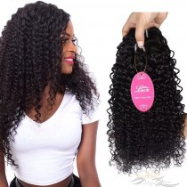 Kinky Curl Brazilian Virgin Hair Wefts Human Virgin Hair Weaves  [BRWKC]