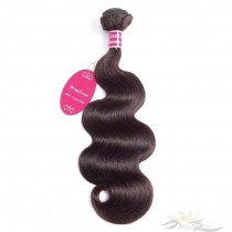 Color #2 Body Wave Brazilian Virgin Hair Wefts Human Virgin Hair Weaves Extensions [BRW#2BW]