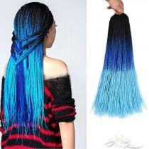 Colorful Crochet Braids Hair 30pcs Per Pack [BH07]