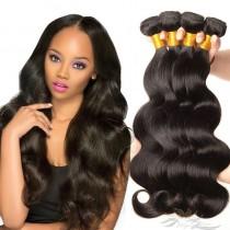 Body Wave Color 1B Black Hair Ultima Fiber Hair Weft [SUWBW]