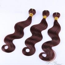 Color #33 Body Wave Hair Blonde Color Ultima Fiber Hair Weft   [SUWBW33]