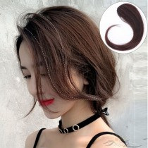 French Style Side Bangs 100% Human Hair Clip-in Hair Extension [FB12]