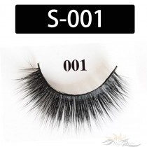5D Silk Lashes Handmade Natural False Eyelash 5 Pairs/Pack [S-001]