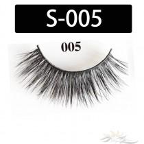 5D Silk Lashes Handmade Natural False Eyelash 5 Pairs/Pack [S-005]