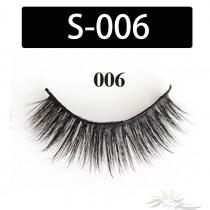 5D Silk Lashes Handmade Natural False Eyelash 5 Pairs/Pack [S-006]