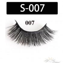 5D Silk Lashes Handmade Natural False Eyelash 5 Pairs/Pack [S-007]