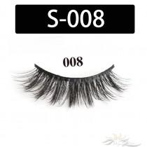 5D Silk Lashes Handmade Natural False Eyelash 5 Pairs/Pack [S-008]