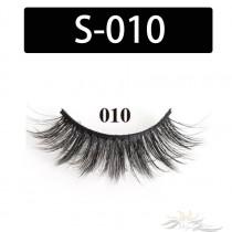 5D Silk Lashes Handmade Natural False Eyelash 5 Pairs/Pack [S-010]