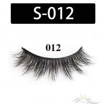 5D Silk Lashes Handmade Natural False Eyelash 5 Pairs/Pack [S-012]