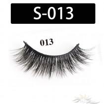 5D Silk Lashes Handmade Natural False Eyelash 5 Pairs/Pack [S-013]