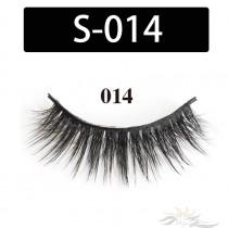 5D Silk Lashes Handmade Natural False Eyelash 5 Pairs/Pack [S-014]