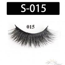 5D Silk Lashes Handmade Natural False Eyelash 5 Pairs/Pack [S-015]