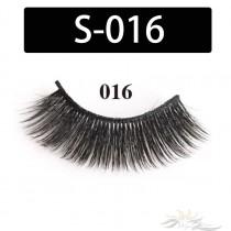 5D Silk Lashes Handmade Natural False Eyelash 5 Pairs/Pack [S-016]