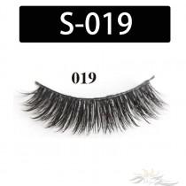 5D Silk Lashes Handmade Natural False Eyelash 5 Pairs/Pack [S-019]