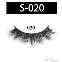 5D Silk Lashes Handmade Natural False Eyelash 5 Pairs/Pack [S-020]