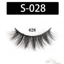 5D Silk Lashes Handmade Natural False Eyelash 5 Pairs/Pack [S-028]