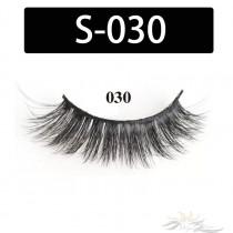 5D Silk Lashes Handmade Natural False Eyelash 5 Pairs/Pack [S-030]