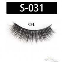 5D Silk Lashes Handmade Natural False Eyelash 5 Pairs/Pack [S-031]