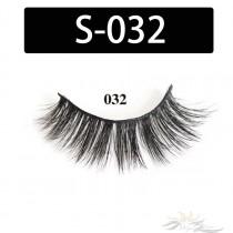 5D Silk Lashes Handmade Natural False Eyelash 5 Pairs/Pack [S-032]