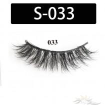 5D Silk Lashes Handmade Natural False Eyelash 5 Pairs/Pack [S-033]
