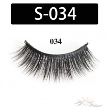 5D Silk Lashes Handmade Natural False Eyelash 5 Pairs/Pack [S-034]