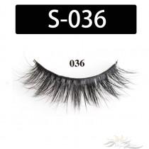 5D Silk Lashes Handmade Natural False Eyelash 5 Pairs/Pack [S-036]