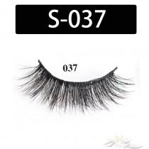 5D Silk Lashes Handmade Natural False Eyelash 5 Pairs/Pack [S-037]
