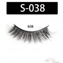 5D Silk Lashes Handmade Natural False Eyelash 5 Pairs/Pack [S-038]